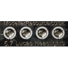 5.7mm diameter Lucas Headlights