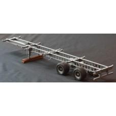 York skeleton/container trailer