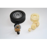 Trailer Brake Axle Kit with 20 Hole Rim's